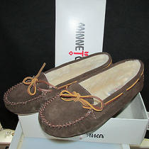Minnetonka Brown Moccasins Size 10 New in Box Photo