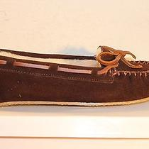 Minnetonka Calley Womens Slippers Chocolate Women's Us Size 7 Photo