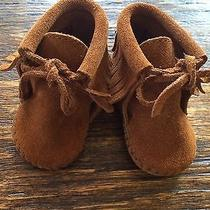 Minnetonka Infant Brown Fringe Boots Photo