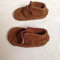 Minnetonka Infant Moccasins Size 1 Photo