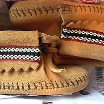 Minnetonka Infant Moccasins Size 3 Brand Nib Photo