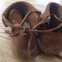 Minnetonka Infant Moccasins Suede Photo