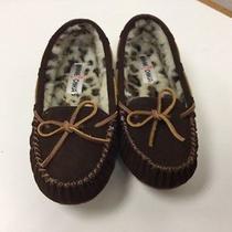 Minnetonka Kayla Slipper Ii Womens Size 7 Brown Suede Slipper Shoes Photo
