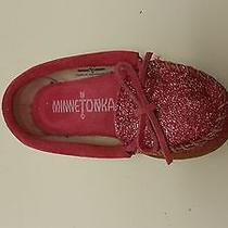 Minnetonka Kids Glitter Moccasin Photo