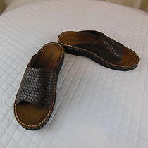 Minnetonka Leather Loafers Sandals Shoes Size 8 Photo