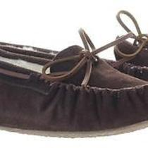 Minnetonka Mocassin - Kayla - Women's Slippers - Size 9 - Chocolate Photo