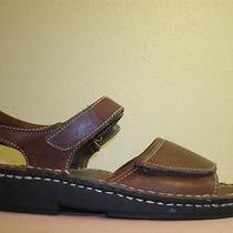 Minnetonka Moccasin Brown Slingback Sandal Shoes  8 M Women's u.s.a. Photo