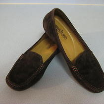 Minnetonka Moccasin Dark Brown Leather Upper Loafer Driving Comfort Shoe Size 8m Photo