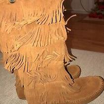 Minnetonka Moccasin Fall Five Layer Boots in Brown Size 8 Worn Once Photo
