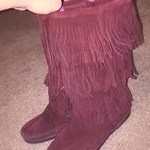 Minnetonka Moccasin Fringe Boots  Photo
