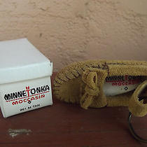 Minnetonka Moccasin Keychain in Box Photo