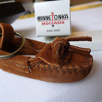 Minnetonka Moccasin Keychain in Original Box Photo