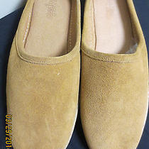 Minnetonka Moccasin Ladies Cinnamon Suede Slide Slippers Size 11 Photo