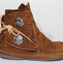 Minnetonka Moccasin Womens Ankle Boot Shoes 5.5 Photo