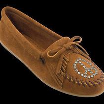 Minnetonka Moccasins Brown Size 8.5 Photo