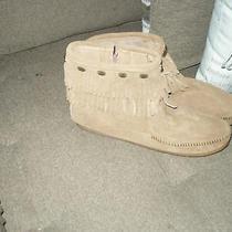 Minnetonka Moccasins Brown Size 9.5 New No Box Photo