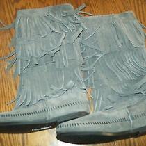 Minnetonka Moccasins Grey Boot Photo