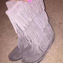 Minnetonka Moccassin Fringe Boots  Photo
