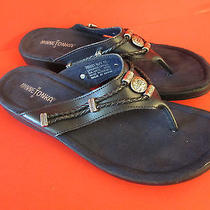 Minnetonka Navy Blue Women's Flip Flop Sandals Size 10 Photo