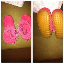 Minnetonka Pink Boots Infant Size 2 Photo