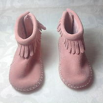 Minnetonka Pink Moccasin for Infant  Photo
