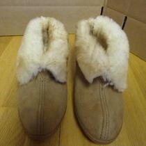 Minnetonka Shearling Lined Women Slippers. Warm & Comfortable..sz 11..euc  Photo