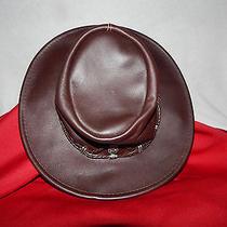 Minnetonka Silverthorn Ladies Genuine Leather Hat  Photo