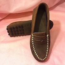 Minnetonka Suede Heavy Weight Moccasins Shoes Flats Loafers Women's 8.5 Photo