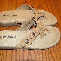 Minnetonka Suede Sandals 8 Photo