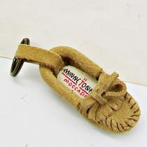 Minnetonka Tan Suede Leather Moccasin Unisex Key Ring  Photo