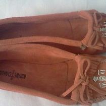 Minnetonka Thunderbird Ii Womens Suede Moccasin Size 10  Photo