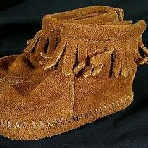 Minnetonka Toddler Moccasins Brown Photo