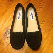 Minnetonka Women's Cally Slipper - Black Suede - 8.5 Photo