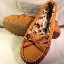 Minnetonka Women's Cally Slipper - Cinnamon Suede - 9 Photo