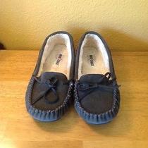 Minnetonka Women's  Slipper - Cally Gray Suede - 9m Photo