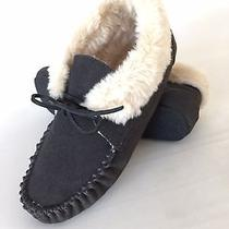 Minnetonka Womens Slippers Bootie Size 7 40014 Grey  Photo