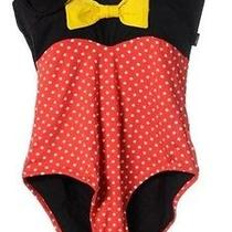 Minni Mouse Moschino Swimming Suite Nwt Photo
