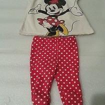 Minnie Mouse Baby Girl Outfit h&m 2-4 Months Photo