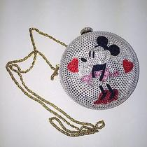 Minnie Mouse Disney Swarovski Crystal Clutch. Genuine Photo