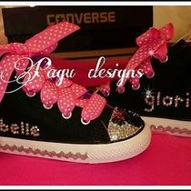 Minnie Mouse Girls Converse Shoes Swarovski Party Photo