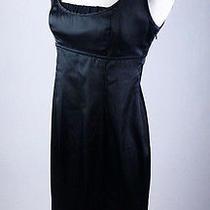 Mint90 Express Corset Back Empire Waist Ruched Lbd Little Black Dress 6 S Photo