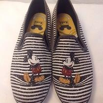 Mint Authentic Disney World Park Mickey Mouse Keds Flats Canvas 6 Photo