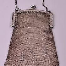 Mint Condition Vintage Whiting & Davis Sterling Silver Mesh Purse Photo