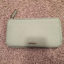 Mint Green Fossil Wallet  Photo