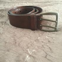 Mint Mens Fossil Leather Belt 40