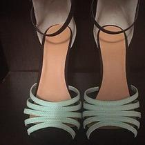 Mint & Metallic Forever21 Heels Photo