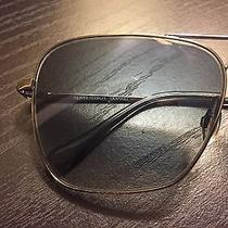 Mint Oliver Peoples Patten 57 Steel Chrome Sunglasses Gradient Lenses Photo