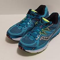 Mint Saucony Omni 14 Women's Running Shoes Size  11 Blue/yellow/white Photo