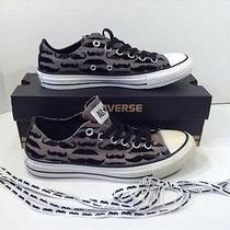 Mis-Mates Converse Ct Ox All Star Mustache Nib Sneakers Shoes Sz W 7 M 5 S6-361 Photo