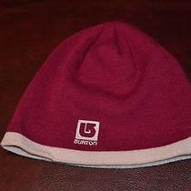 Misc Hats From Estate Collectible Burton Snow Boards Toboggan Beanie Photo